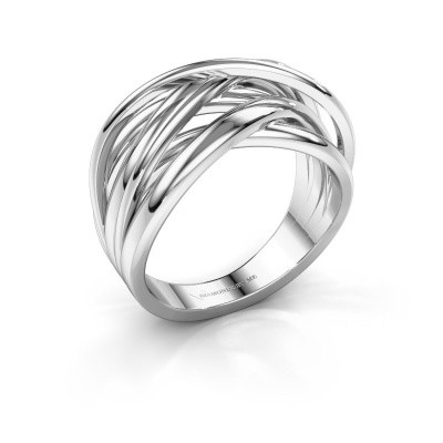 Ring Fem 1 585 witgoud