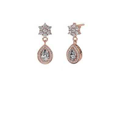 Picture of Drop earrings Era 585 rose gold diamond 1.43 crt