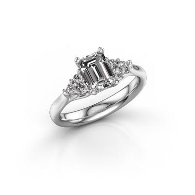 Foto van Verlovingsring Monika EME 585 witgoud diamant 1.300 crt