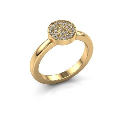 Foto van Ring Initial ring 010 585 goud