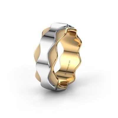 Trouwring WH2033P 585 goud ±7x2.4 mm