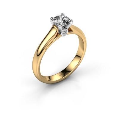 Verlovingsring Valorie 1 585 goud diamant 0.59 crt