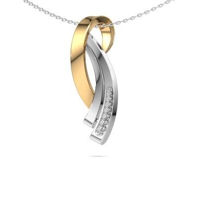 Ketting Lida 585 goud diamant 0.064 crt
