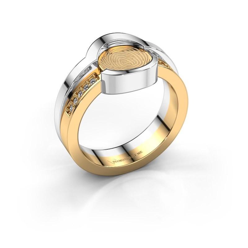Ring Leander 585 goud