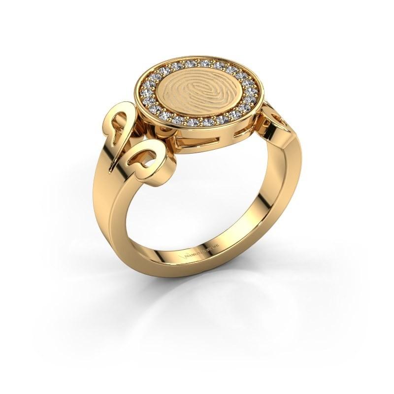 Ring Doret 585 goud