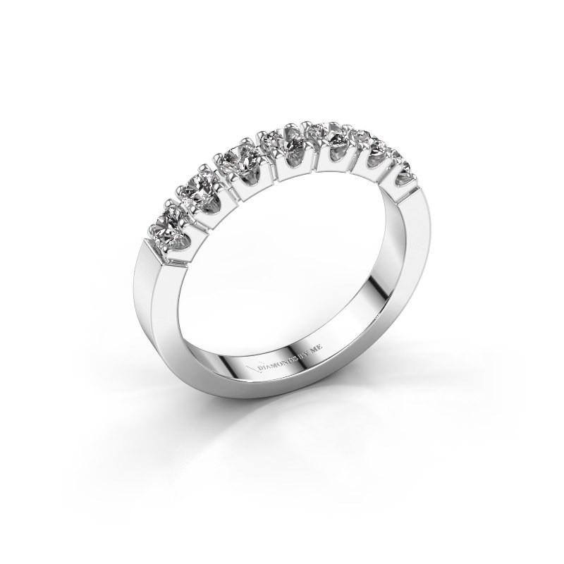 Verlovingsring Dana 7 585 witgoud diamant 0.56 crt