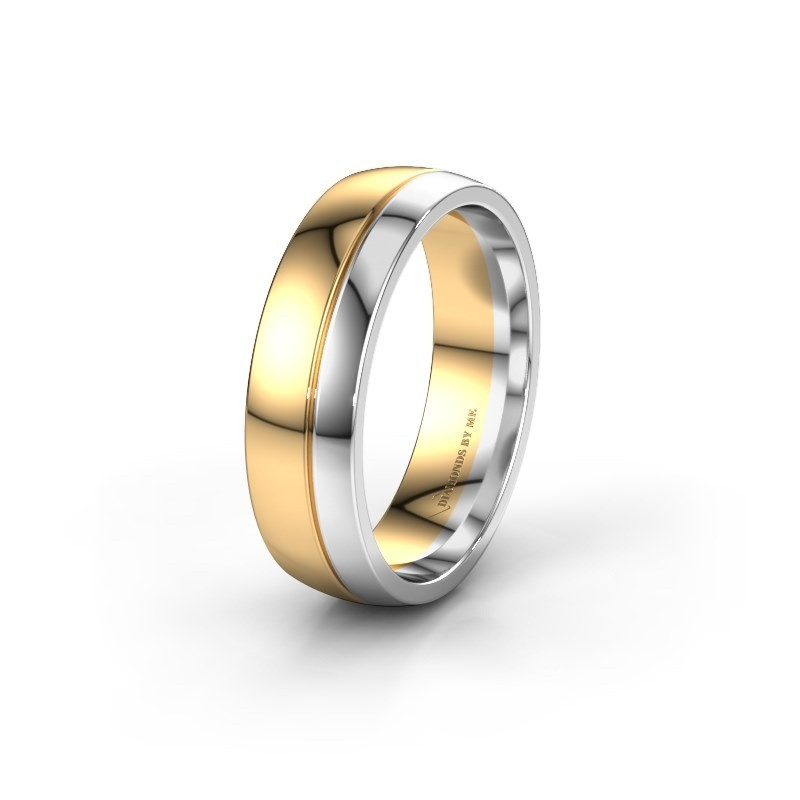 Trouwring WH0223M56A 585 goud ±6x1.7 mm