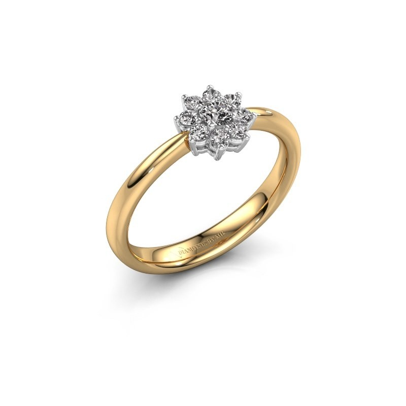 Verlovingsring Camille 1 585 goud diamant 0.51 crt