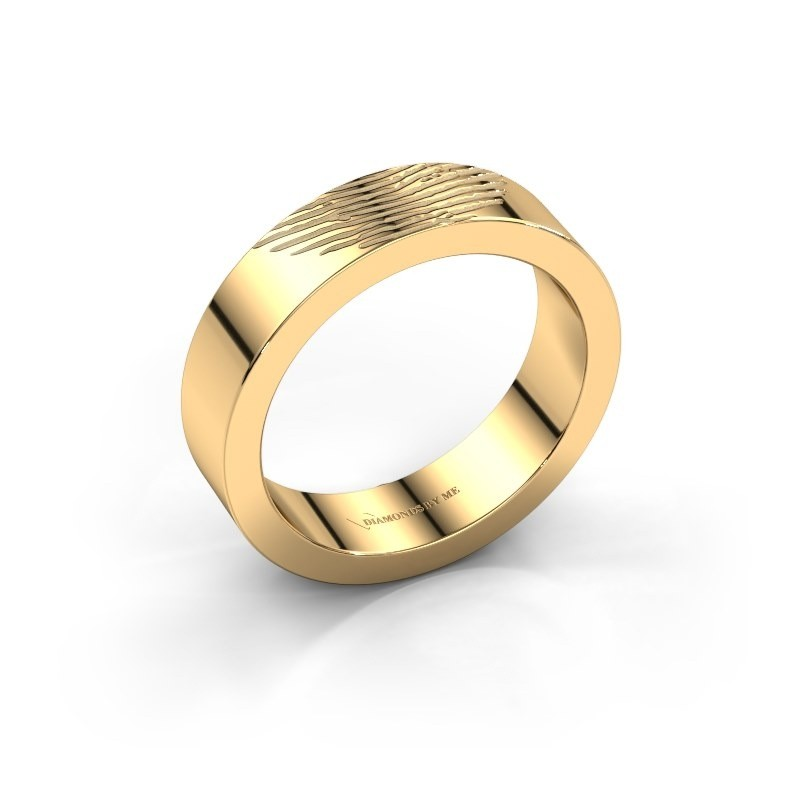 Trouwring Bernice 585 goud ±5x2 mm