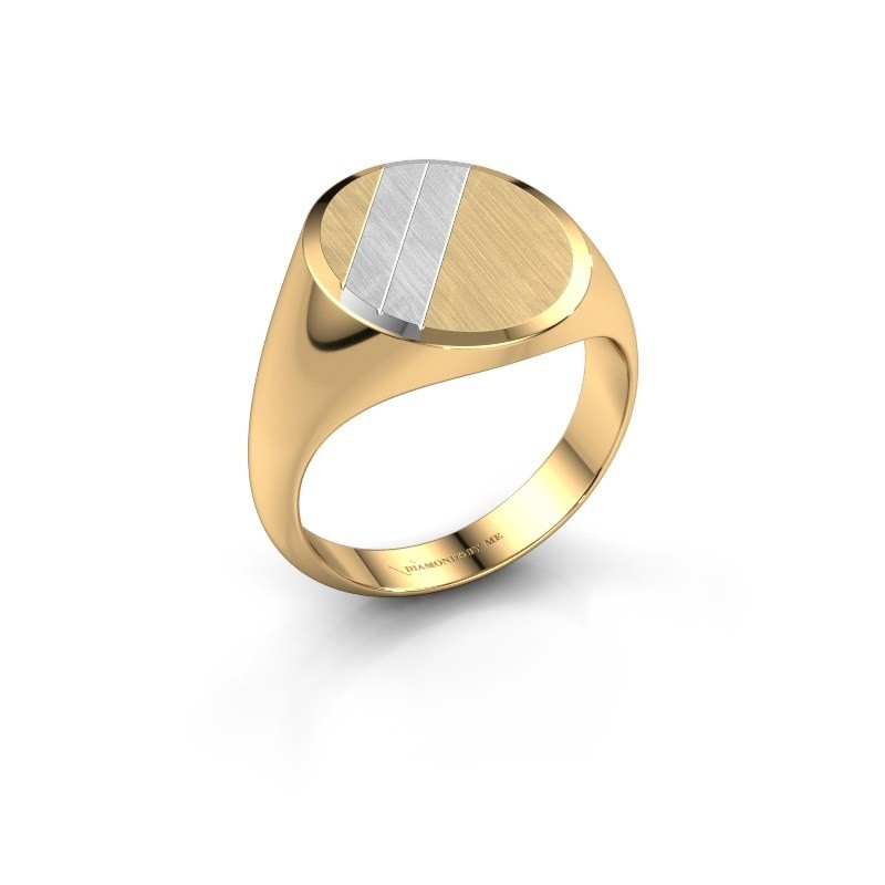 Zegelring Timo 4 585 goud