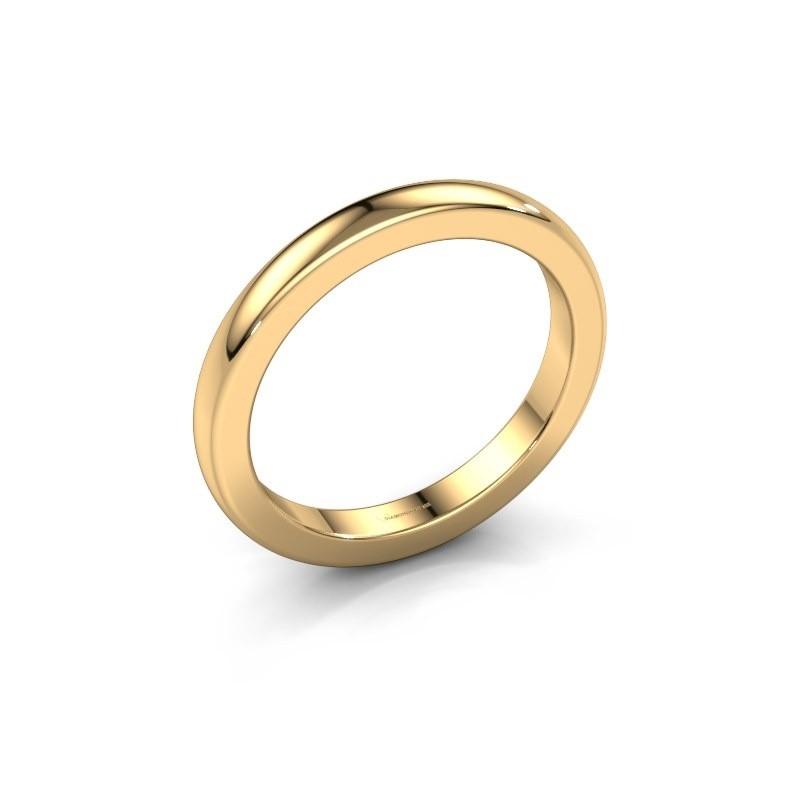 Aanschuifring Astrid 25 mm 585 goud