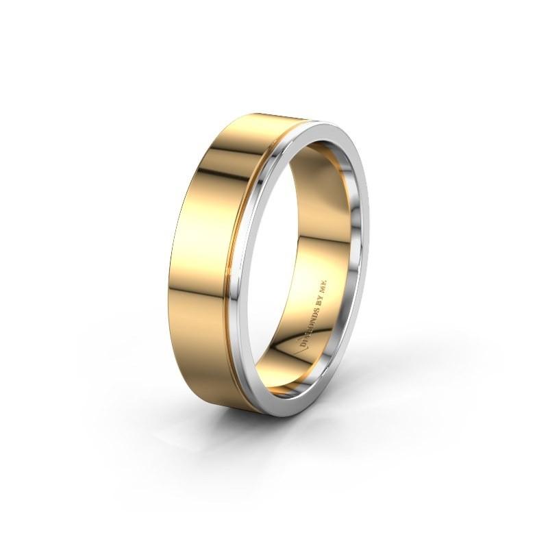 Trouwring WH0500M16AP 585 goud ±6x1.7 mm