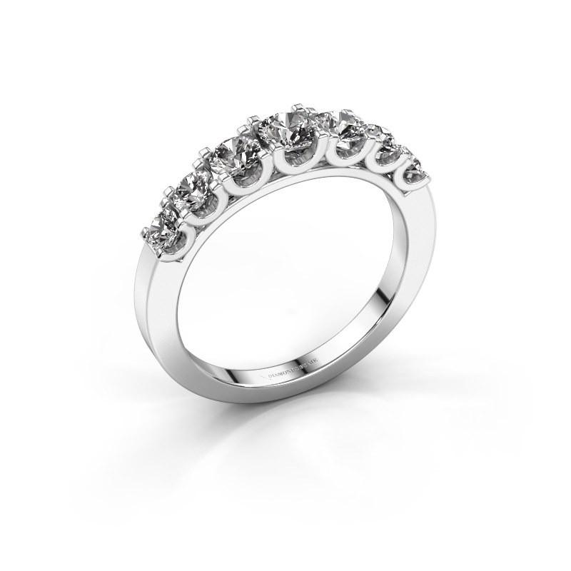 Verlovingsring Selina 3 585 witgoud diamant 0.86 crt