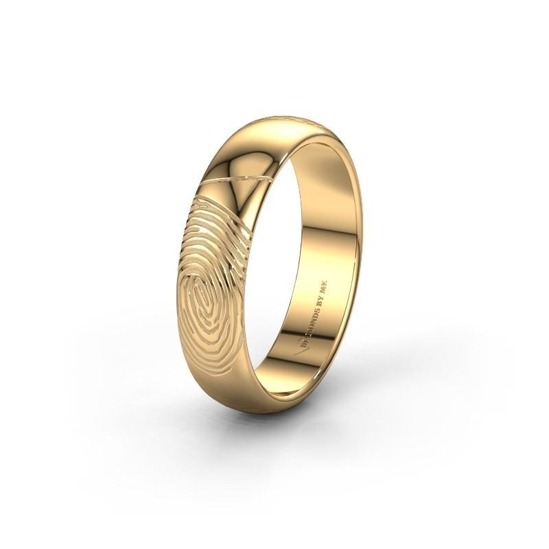 Trouwring WMH0419M355AP 585 goud ±5x1.7 mm