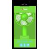 Afbeelding van Trust Ventu-Go Portable Cooling Fan – green 23113