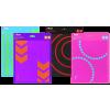 Afbeelding van Trust Primo Mouse pad - pink/blue 22105