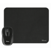Afbeelding van Trust Primo Wireless Mouse with mouse pad - black 21979