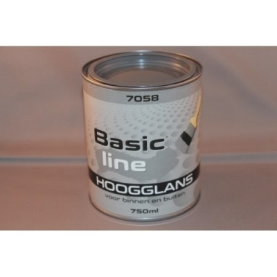 Basicline 7058 Hoogglans 750ML