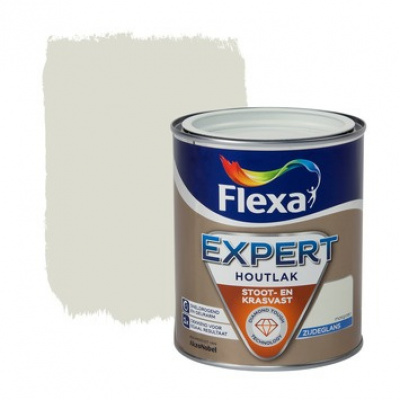 Foto van Flexa Expert | Zijdeglans lak | 102 Mosgroen | 0,75 liter