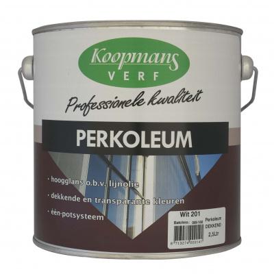 Foto van Koopmans Perkoleum Hoogglans Antraciet 2,5L