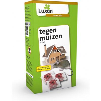 Muizengif Luxan Sorkil Bloc - - 5x20 g