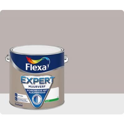 Foto van Flexa Expert | Muurverf Mat | 204 Taupe | 2,5 liter