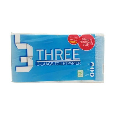 Foto van Toiletpapier 3 laags
