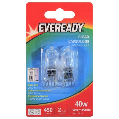 Foto van EVEREADY 40 W G9 CAPSULE