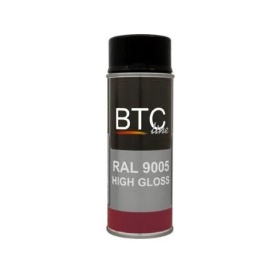 BTC Deco Spray RAL 9005 Hoogglans
