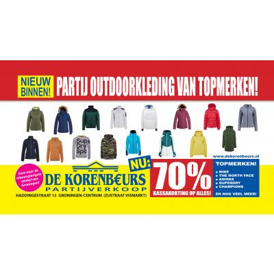 Nét binnen! | Partij prachtige outdoor kleding van topmerken!!