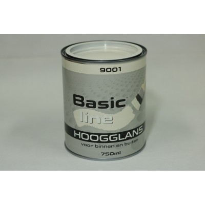 Basicline 9001 Hoogglans 750ML