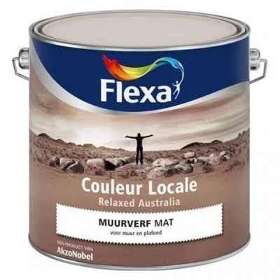 Foto van Flexa Couleur Locale Muurverf Relaxed Australia