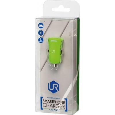 Trust Urban - Smartphone Auto Oplader - 5W - Groen
