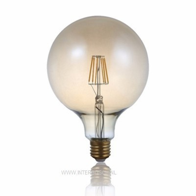 Ledlamp Globe Filament G125 4W E27