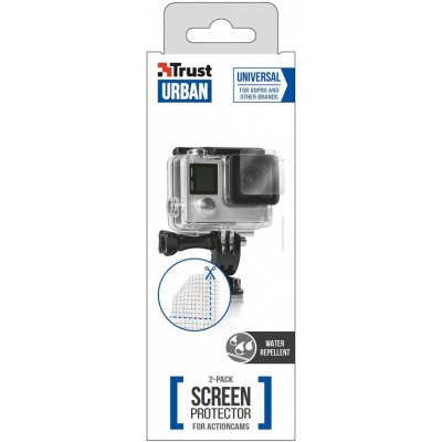 Trust Urban - Waterafstotende Screen Protector 2-pack voor Action Cameras