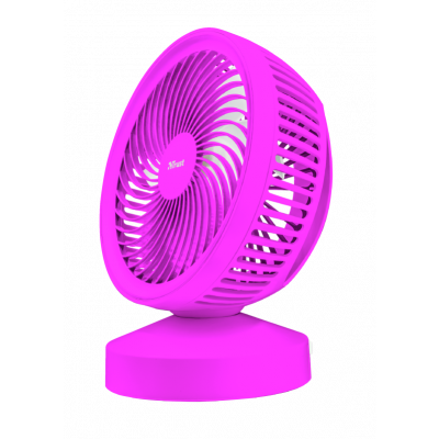 Foto van Trust Ventu USB Cooling Fan - pink 22582