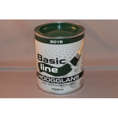 Basicline 3015 Hoogglans 750ML