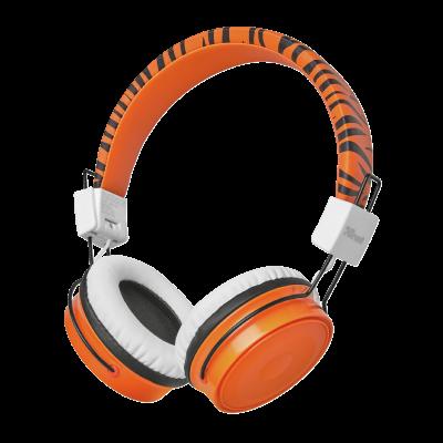Trust Comi Bluetooth Wireless Kids Headphones - orange 23127
