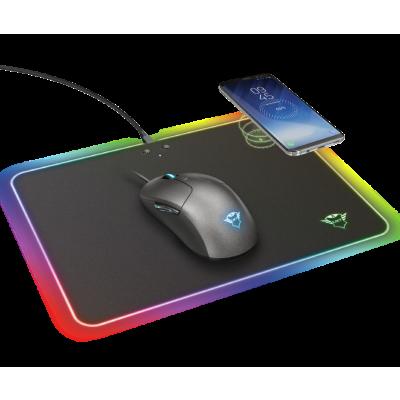 TRUST GXT 750 QLIDE | Gaming Muismat met Draadloos QI Opladen