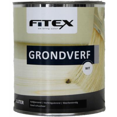 Foto van Fitex Grondverf Wit 2,5L