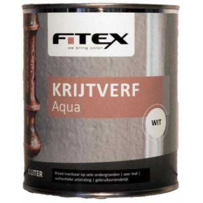 Fitex Krijtverf Aqua Wit 1L