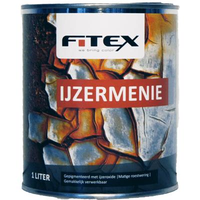 Foto van Fitex IJzermenie Roodbruin 1L