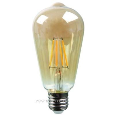 Led Lamp Retro Filament ST64 4W E27