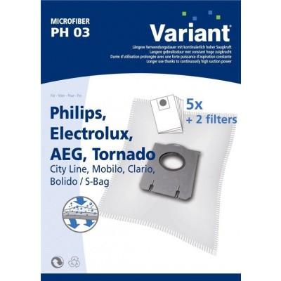 Variant PH03 - Stofzuigerzakken