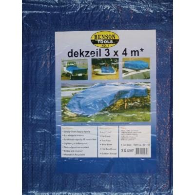 Foto van Dekzeil 3*4M Blauw