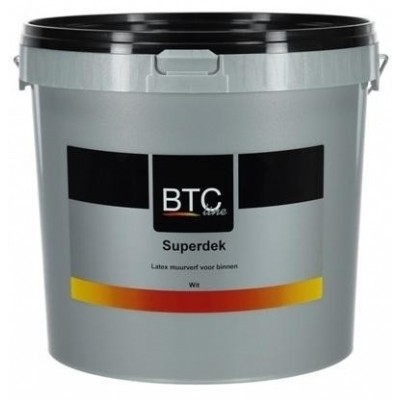 BTC Superdek Wit 10L