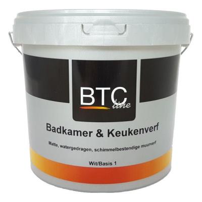 Foto van BTC Badkamerverf Gemengd 2,5L