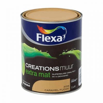 Flexa Creations Muurverf Caramel Fudge