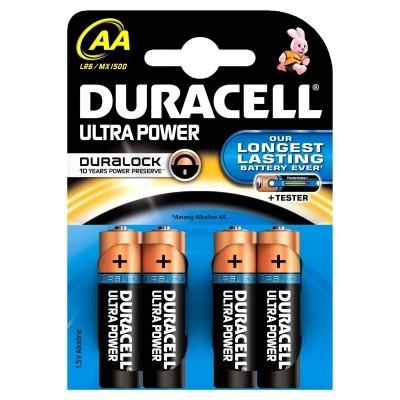 Foto van Duracel Ultra Power AA Blue