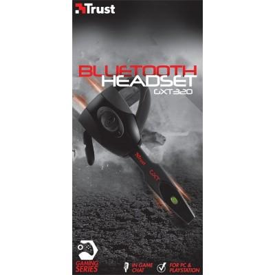 Trust GXT 320 Faura - Draadloze Bluetooth Headset - Zwart (PC + PS3)